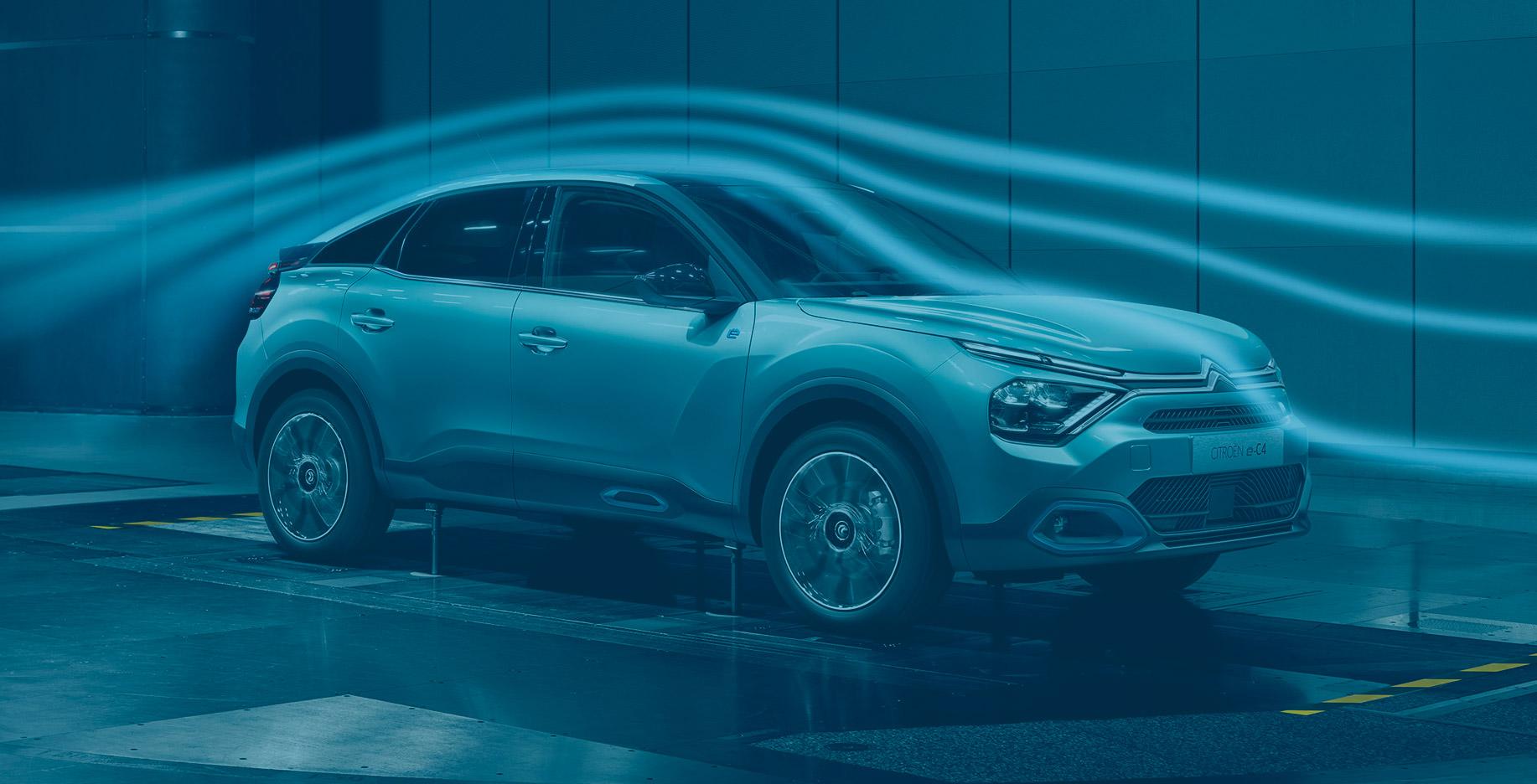 Citroën ë-C4 testes