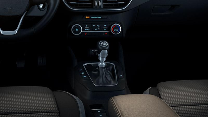 Det manuelle gear i Ford Focus