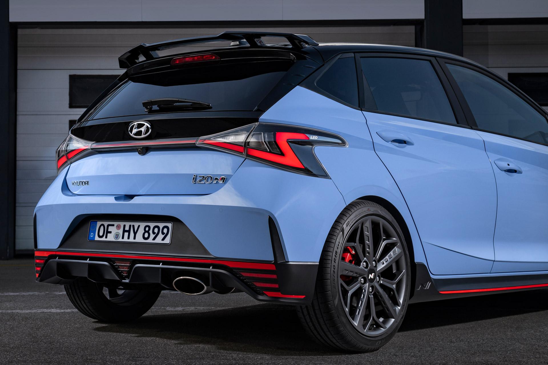 Hyundai i20 N bagdel