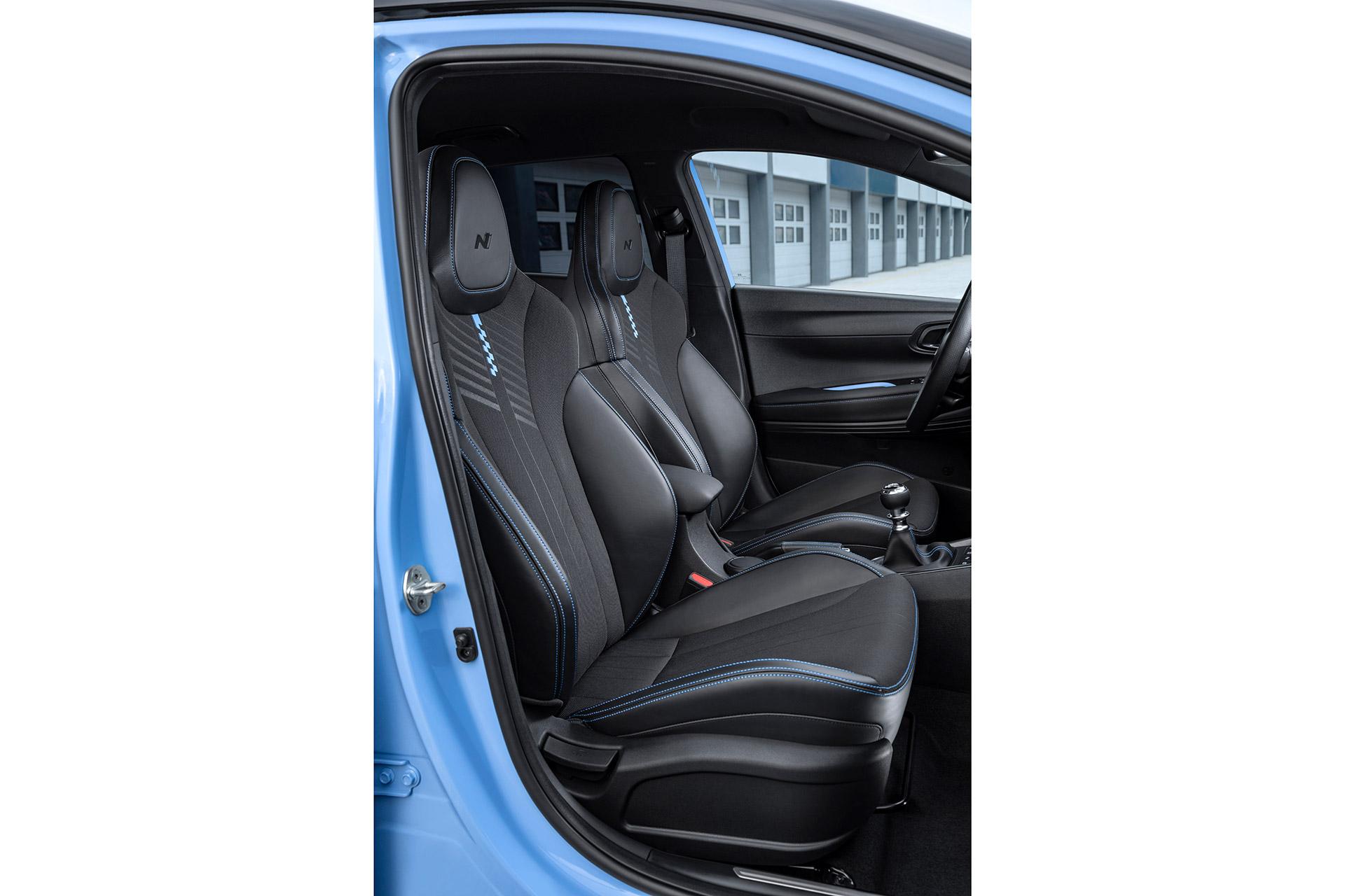 Hyundai i20 N sæder