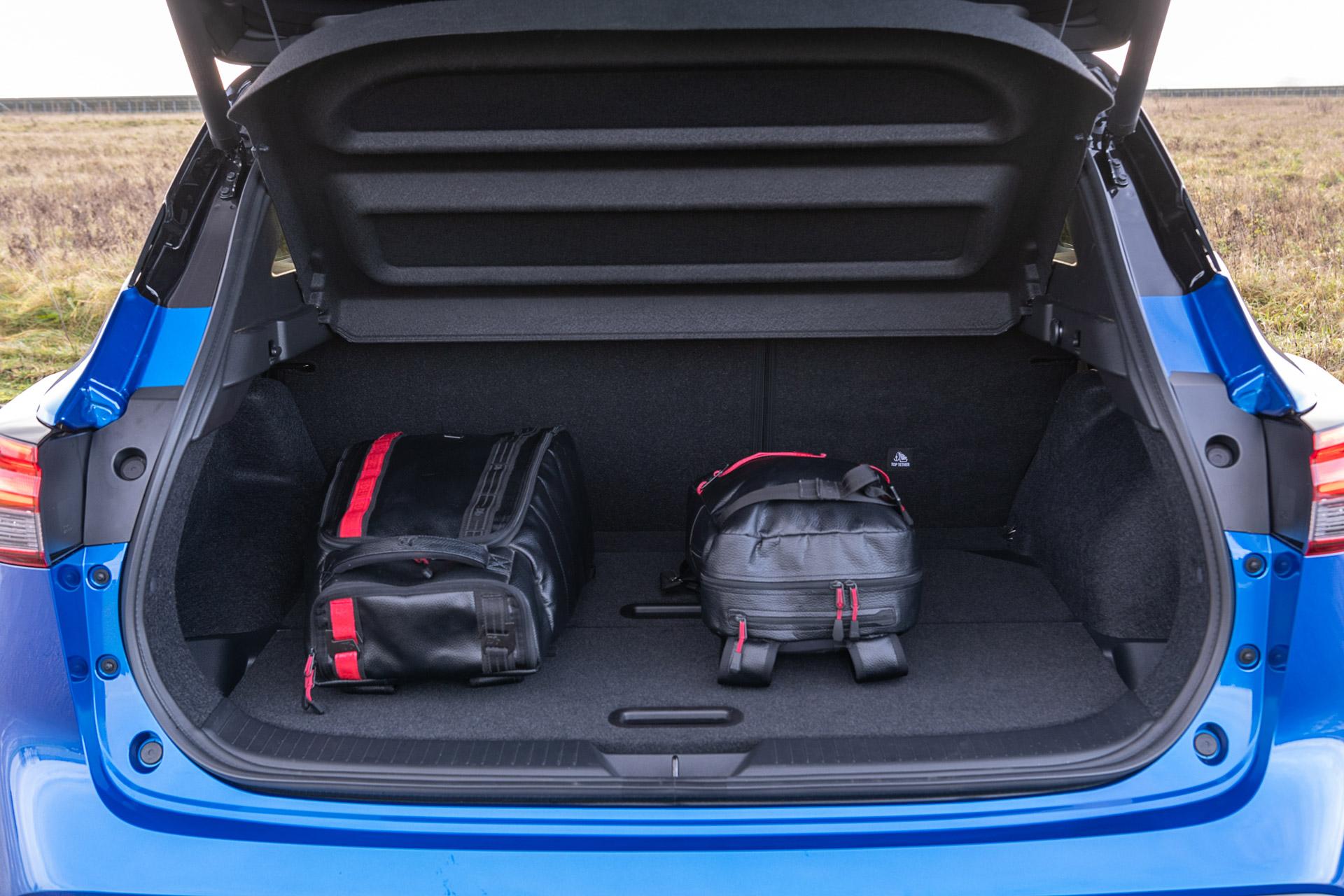 Nissan Qashqai 2021 bagagerum