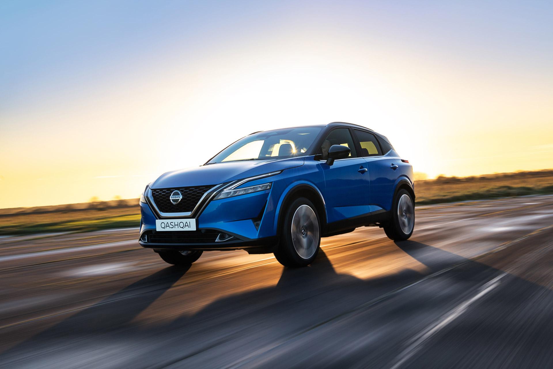 Nissan Qashqai 2021 på vejen