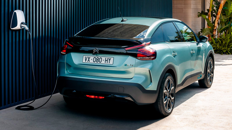 Citroën ë-C4 oplader derhjemme