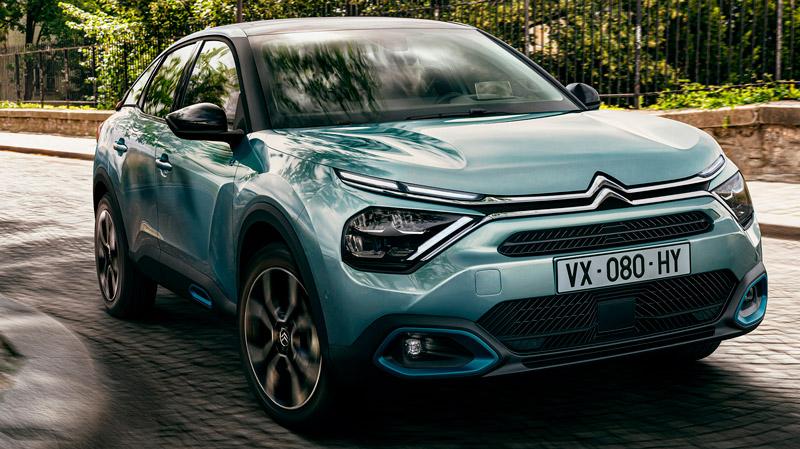 Citroën ë-C4 på vejen