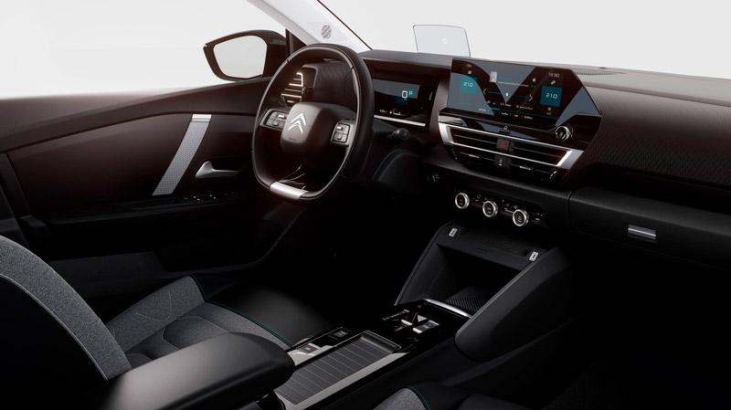 Citroën ë-C4 interiør