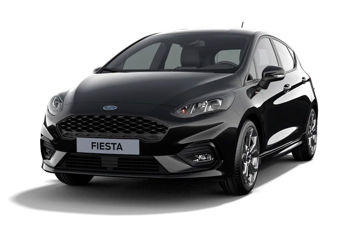 Ford Fiesta ST-Line i sort