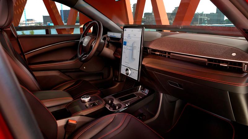 Ford Mustang Mach-E interiør