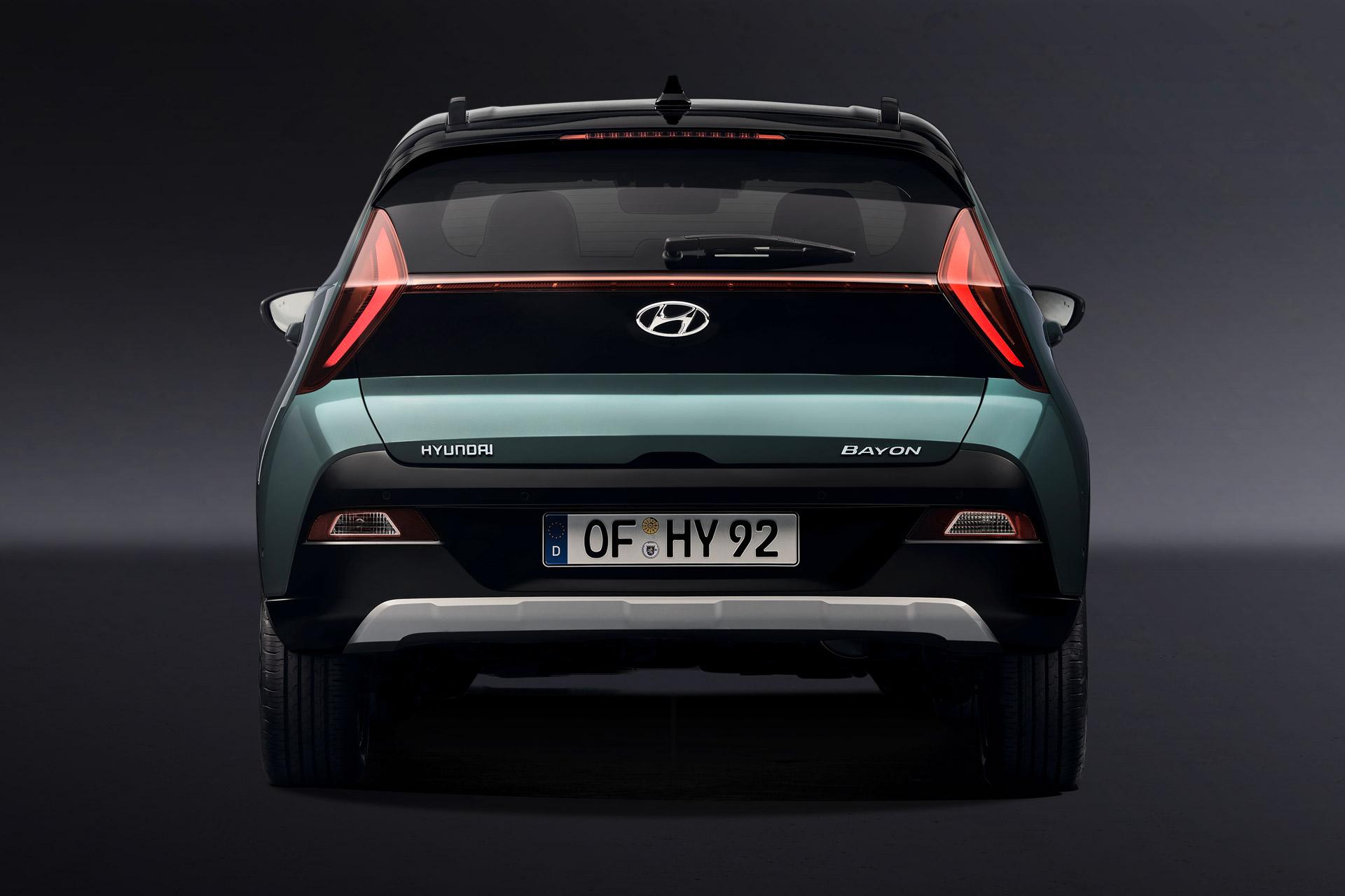 Hyundai BAYON bagfra