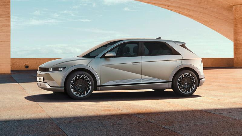 Hyundai IONIQ 5 fra siden