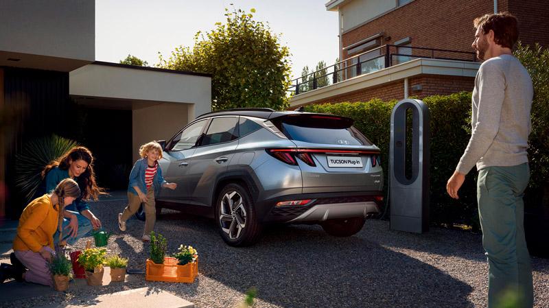 Hyundai Tucson Plug-in Hybrid set bagfra