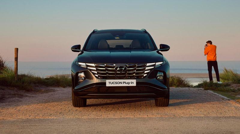 Hyundai Tucson Plug-in Hybrid front
