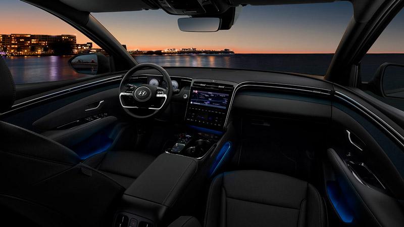 Hyundai Tucson Plug-in Hybrid interiør