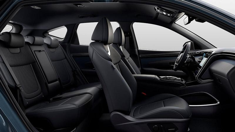 Sæderne i den nye Hyundai Tucson Plug-in Hybrid