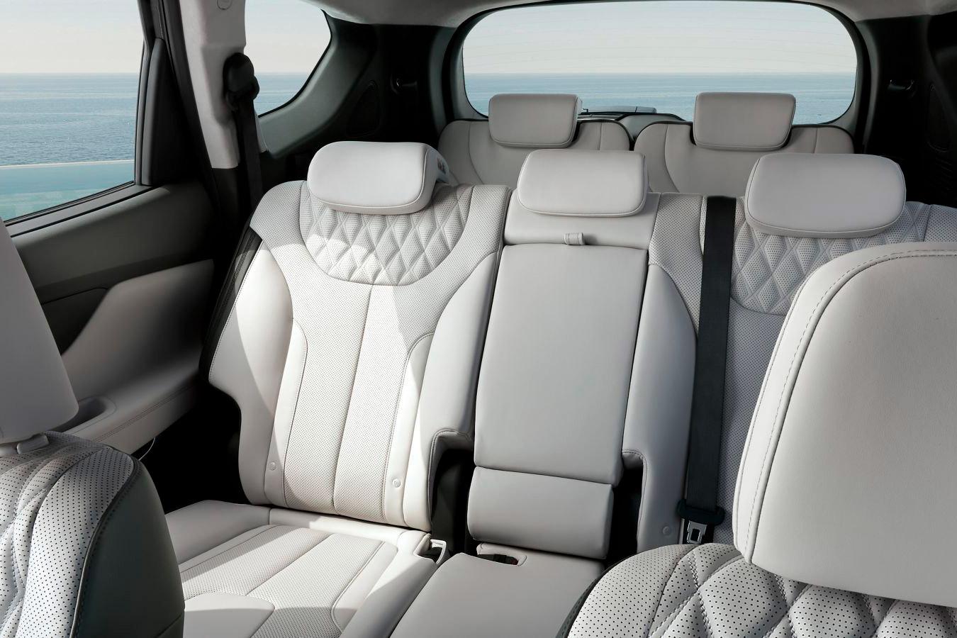 Syv sæder i Hyundai Santa Fe Plug-in Hybrid