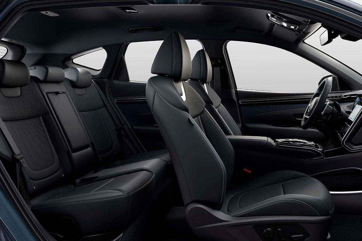 Sæderne i Hyundai Tucson Plug-in Hybrid