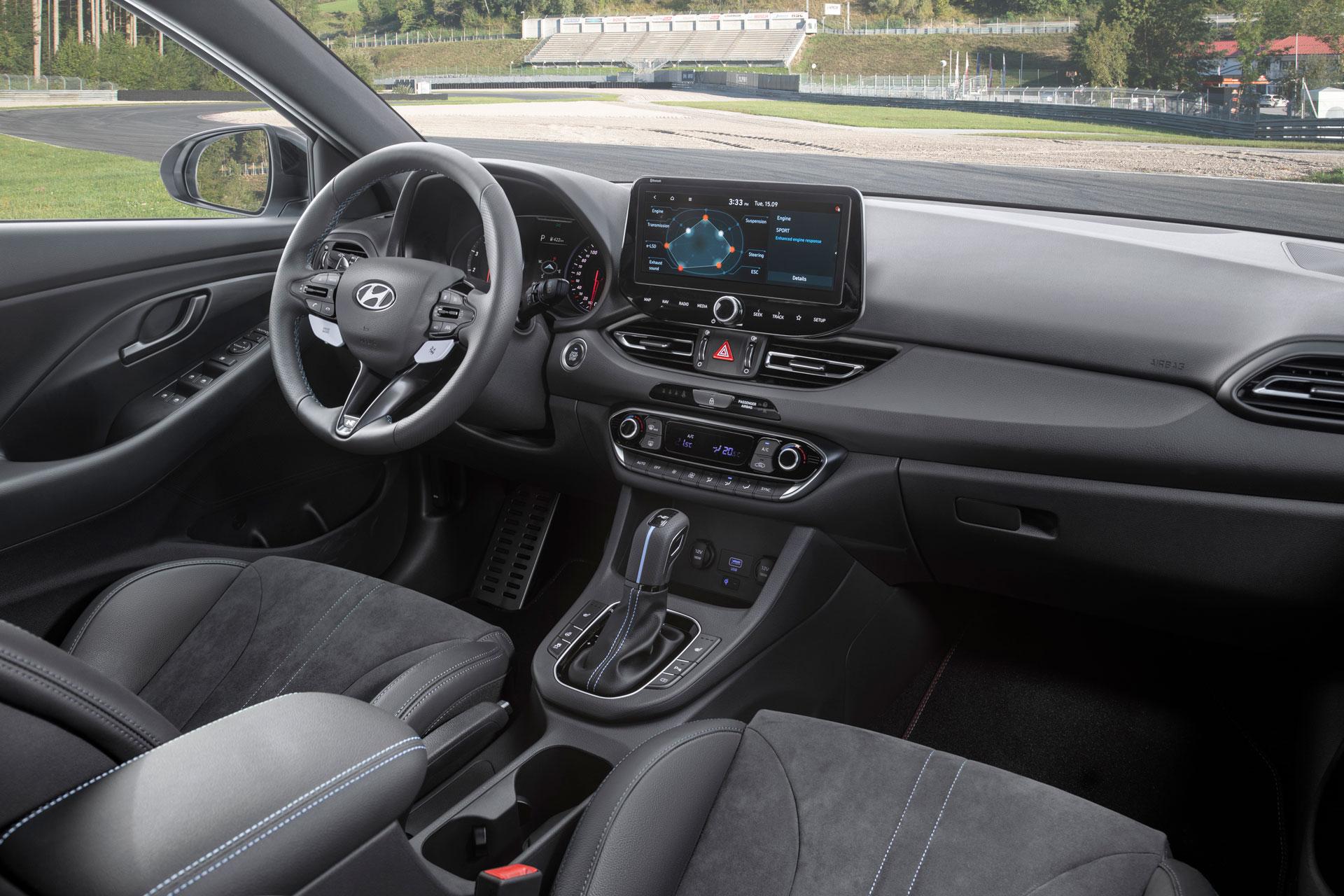 Hyundai i30 N interiør