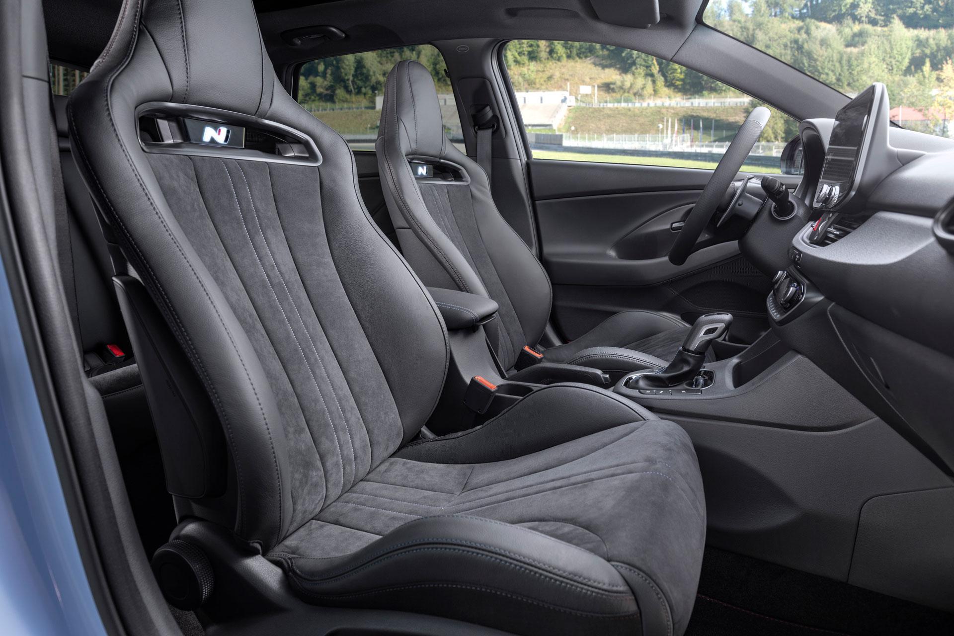 Hyundai i30 N sportsforsæder
