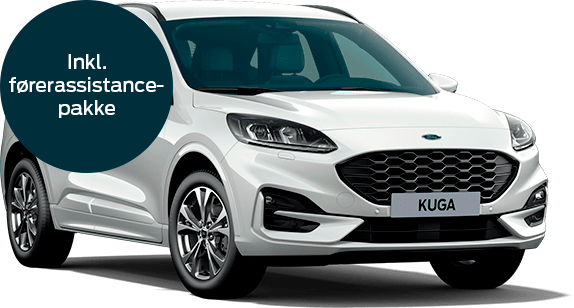 Ford Kuga plug-in hybrid ST-Line