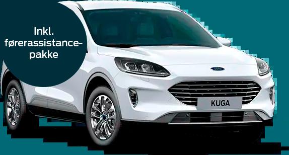 Ford Kuga plug-in hybrid Titanium