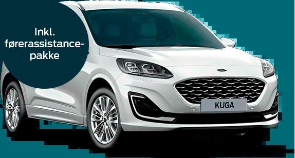 Ford Kuga plug-in hybrid Viginale