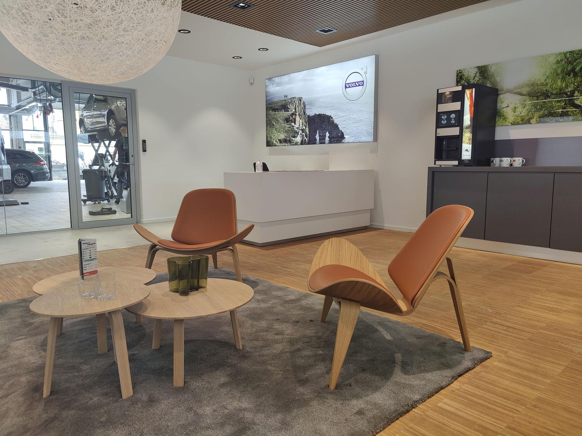 Volvo lounge hos Andersen Biler Gladsaxe 3