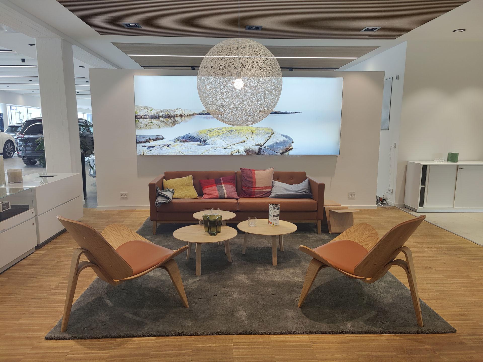 Volvo lounge hos Andersen Biler Gladsaxe