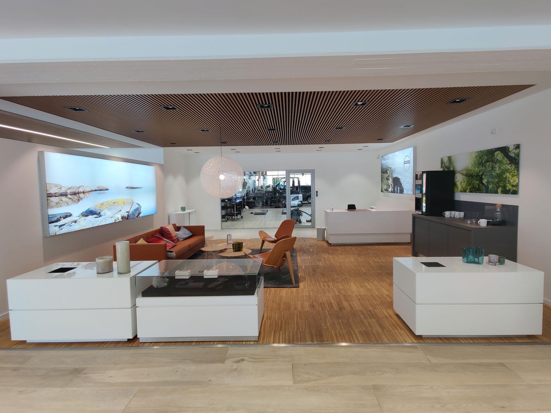 Volvo lounge hos Andersen Biler Gladsaxe 4