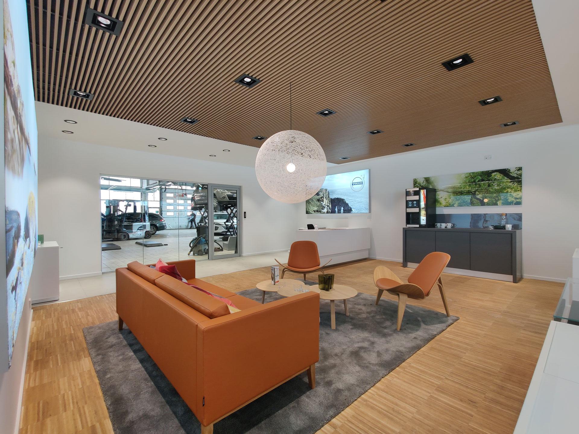 Volvo lounge hos Andersen Biler Gladsaxe 2