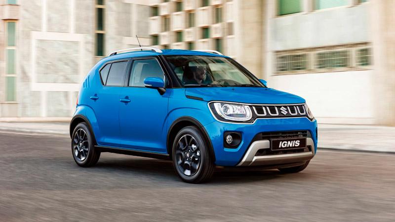 Suzuki Ignis i farven blå
