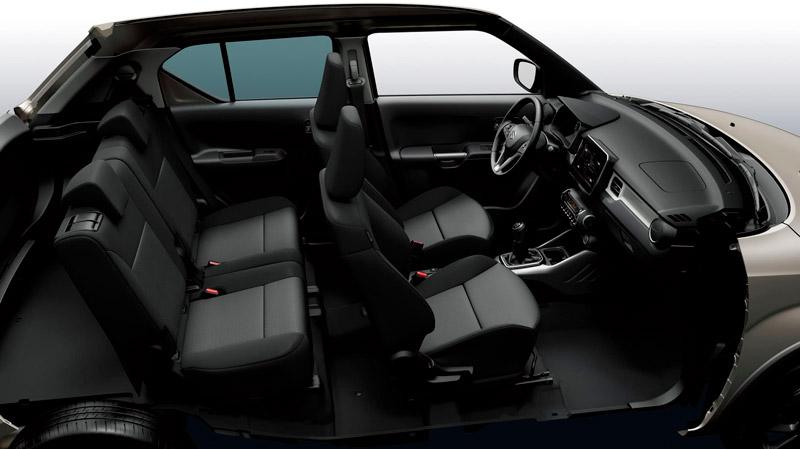 Suzuki Ignis kabine