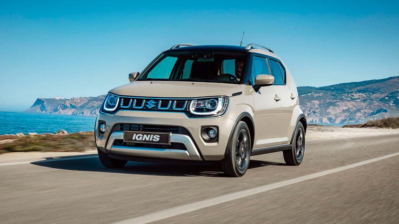 Suzuki Ignis på vejen