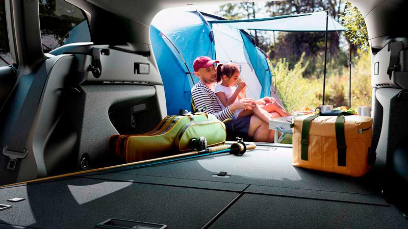 Suzuki Swace med rummeligt bagagerum