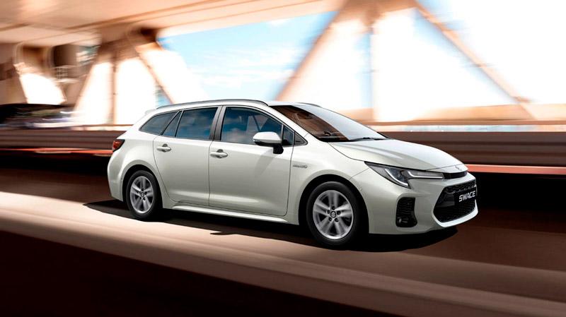 Suzuki Swace på farten