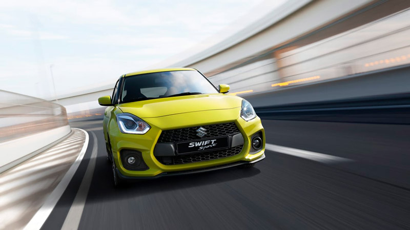 Suzuki Swift Sport med fart på
