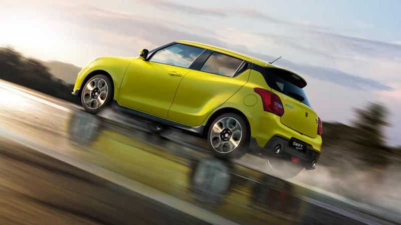 Suzuki Swift Sport set fra siden