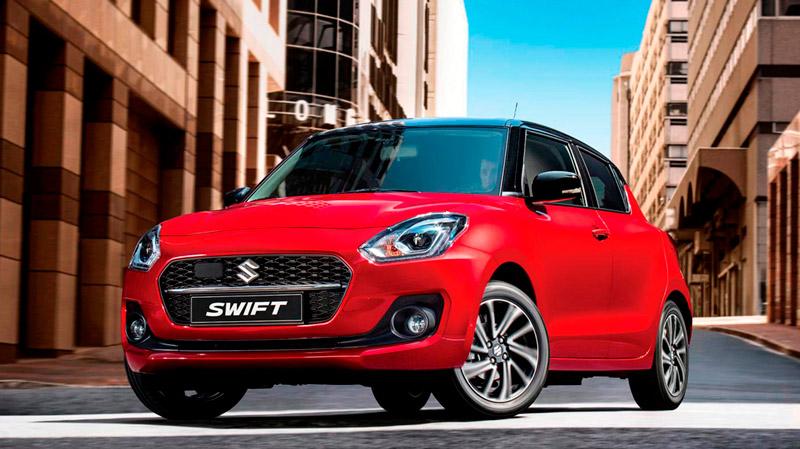 Suzuki Swift i byen