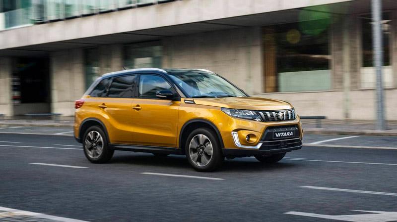 Suzuki Vitara på vejen