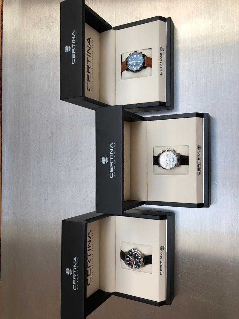 Forskellige gevinst ure