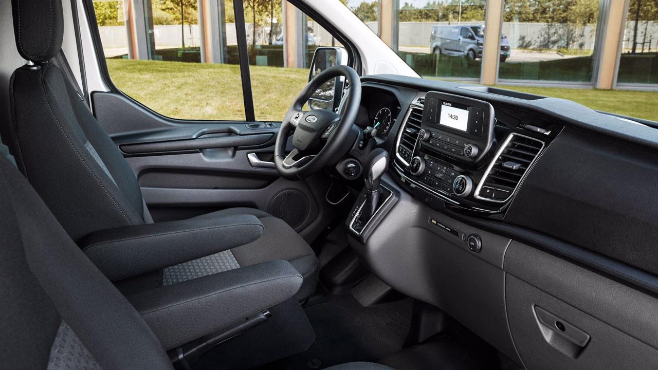Ford Transit Custom PHEV interiør