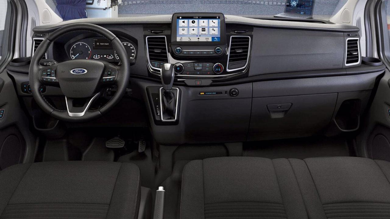 Ford Transit Custom PHEV kabine