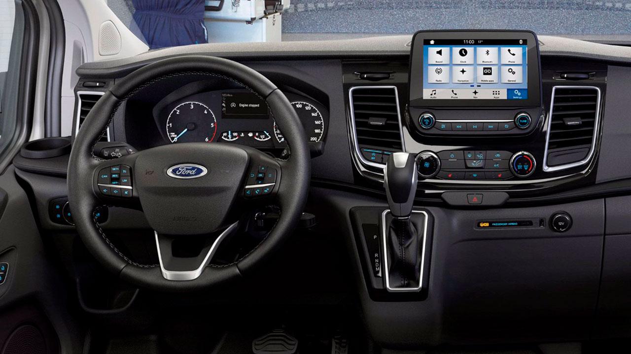 Ford Transit Custom kabine 2