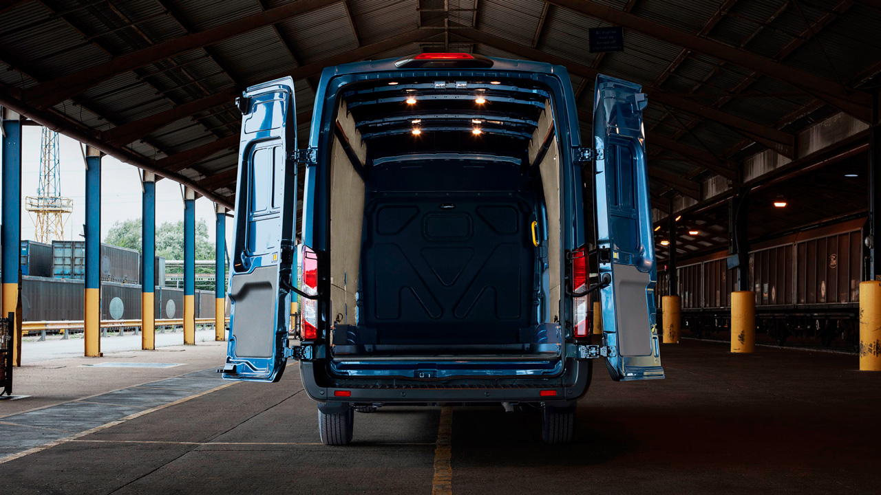 Ford Transit Van indvendigt