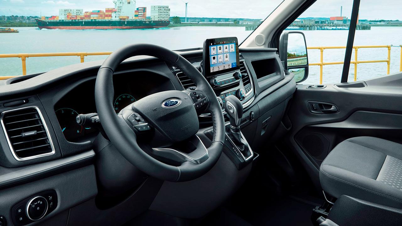 Ford Transit Van interiør