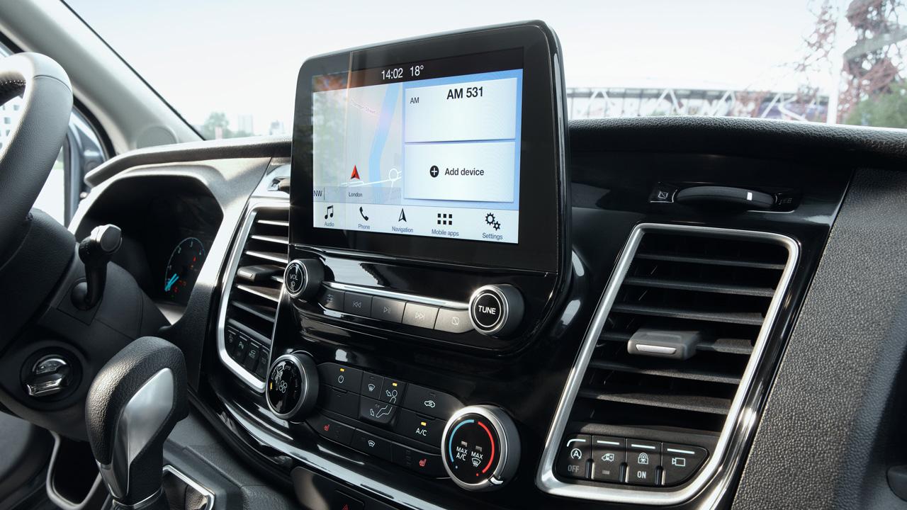Ford Transit Van touchskærm